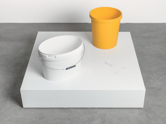 Untitled (Double bucket)