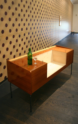 Double Bench for Drinkers
